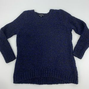 Cable and Gauge Textured Sweater. Sz. XL